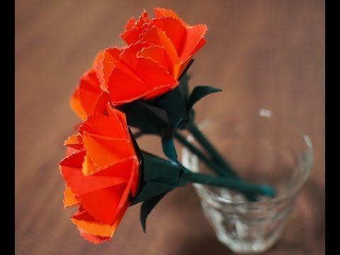 2origami carnation 2origami carnation origami flowersquilling mightylinksfo