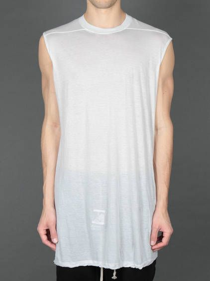 BEST OF SALE FW13 w/ Rick Owens DRKSHDW sleeveless tank top #rickowensdrkshdw