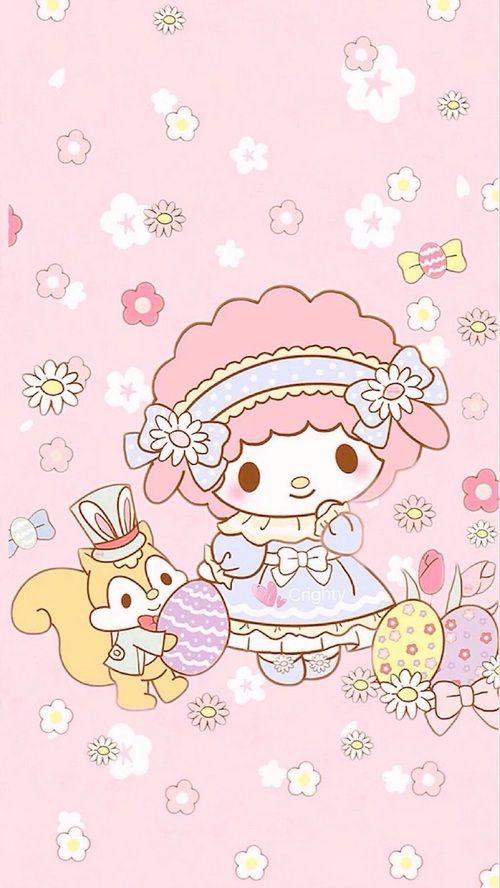 My Sweet Piano Hello Kitty Wallpaper Melody Hello Kitty Kitty Wallpaper