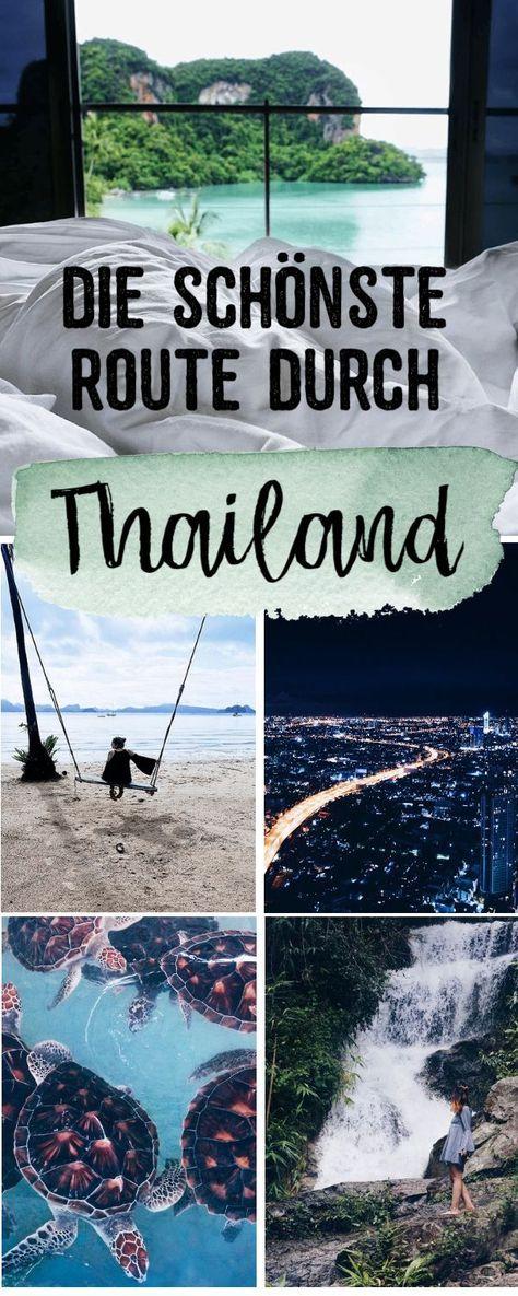 Ida y vuelta Tailandia | nuestra ruta de viaje durante un mes en todo el país – curso de cuerdas altas