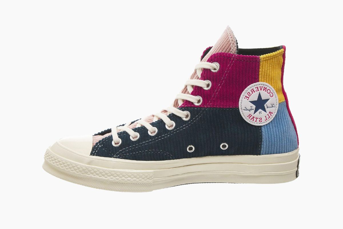 Converse Adds Colorblocked Corduroy Patchwork to the Chuck