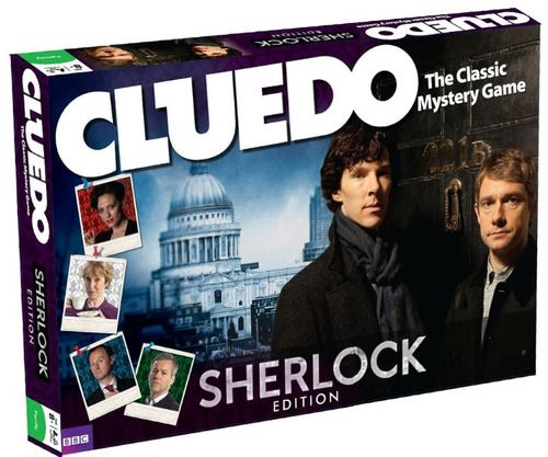 Official Sherlock Cluedo Due for release end of October, pre-order now from Amazon UK. //i would buy this.