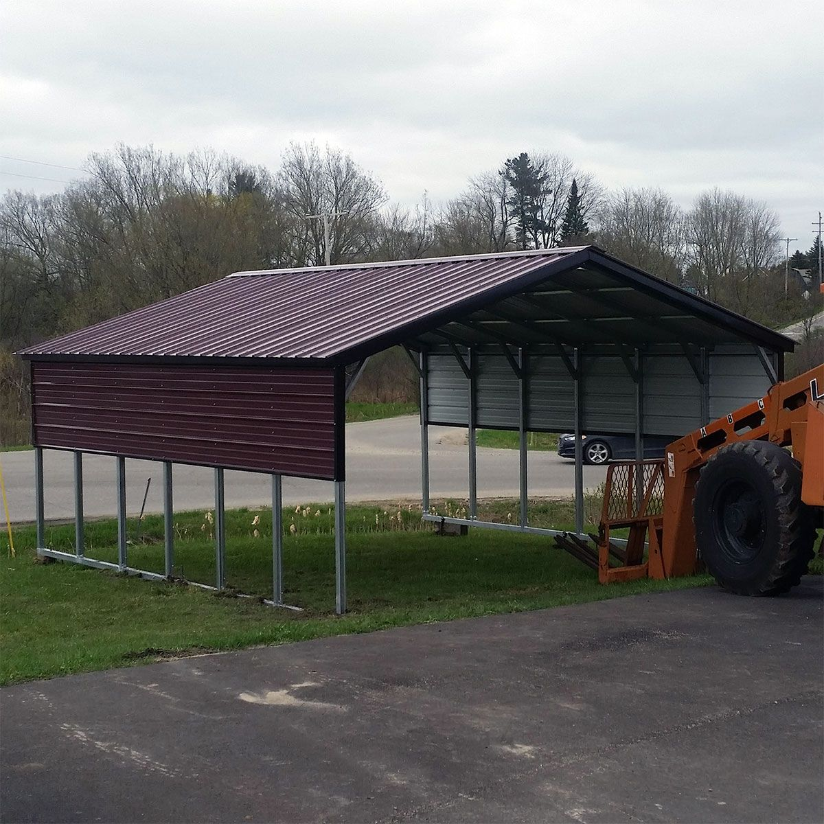 Shop Metal Carports Sheds And Garages Near Me Steel Carports