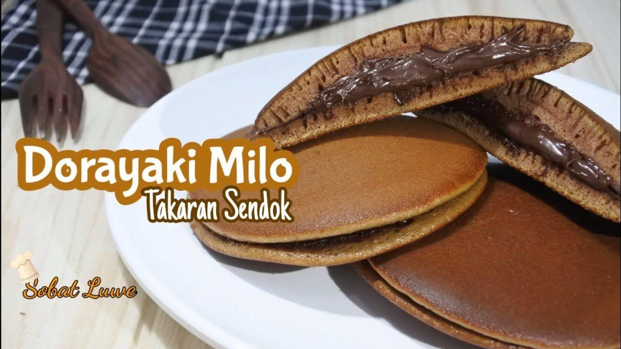 Dorayaki Milo Resep Dorayaki Milo Teflon Takaran Sendok Resep Sendok