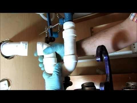 Godmorgon IKEA Cabinet with non-IKEA plumbing - YouTube