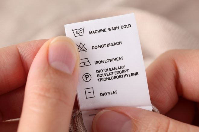 Different Types Of Care Instructions For Clothing Dry Cleaning