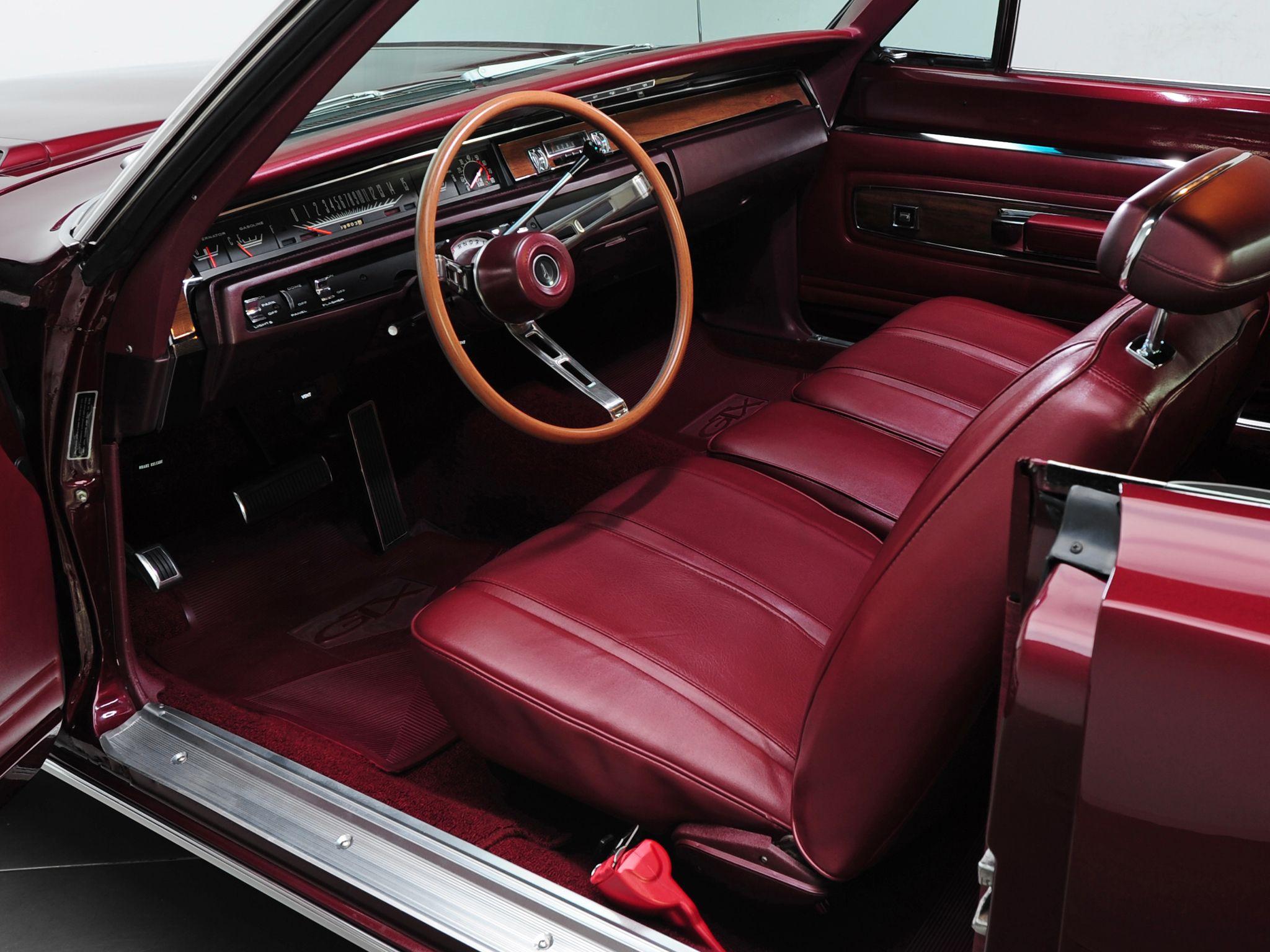 1968 PLYMOUTH ROAD RUNNER 2 DOOR HARD TOP - 97036   1968 Plymouth Road Runner Interior