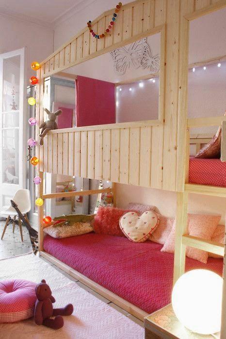 loulou gatou 15 fa ons de customiser votre lit kura de ikea gustave chambre enfant. Black Bedroom Furniture Sets. Home Design Ideas