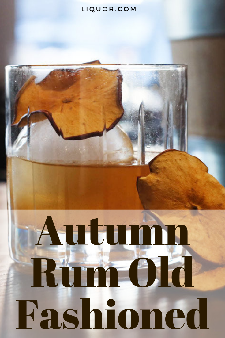 Autumn Rum Old Fashioned #i'mthirsty