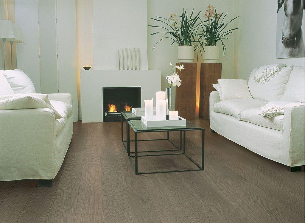 Quick Step Hardwood Flooring Compact Oak Taupe Grey Matt COM1453