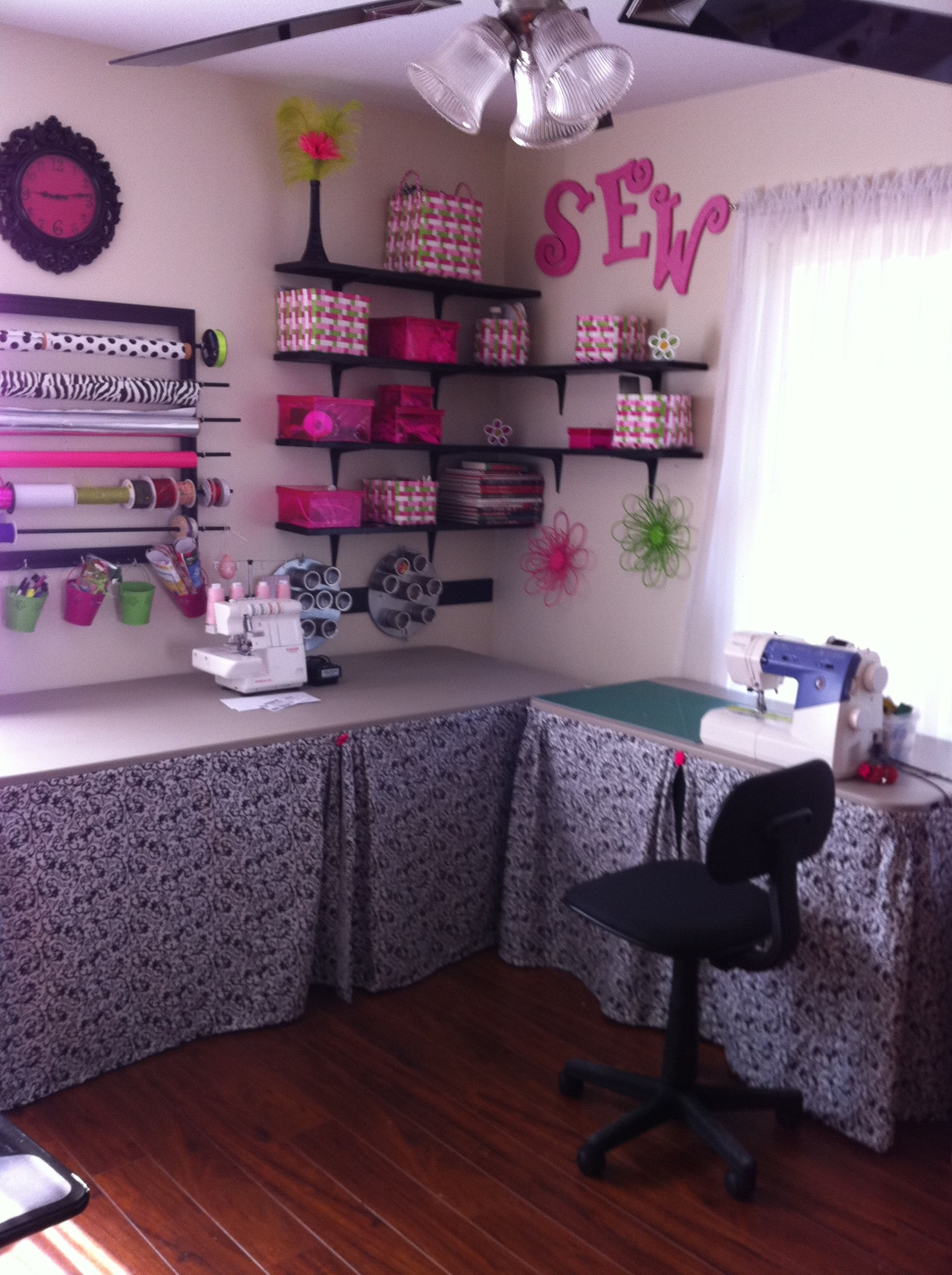 My sewing and craft room