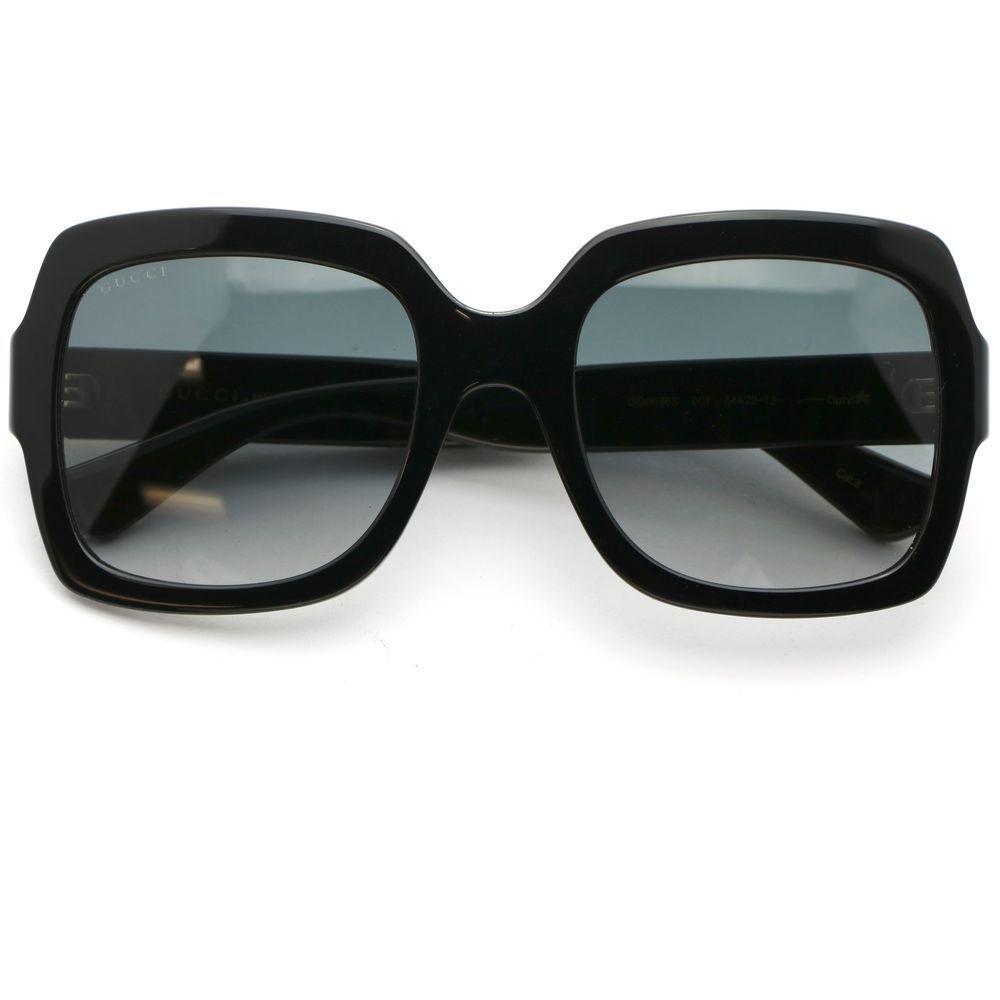 814c99e66a Gucci 0036S Square Black Sunglasses with Gray Gradient Lens  Gucci  Square