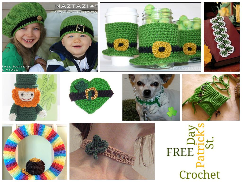 Free Amigurumi Leprechaun Pattern : St. patrick's day crochet patterns .. free crochet & amigurumi