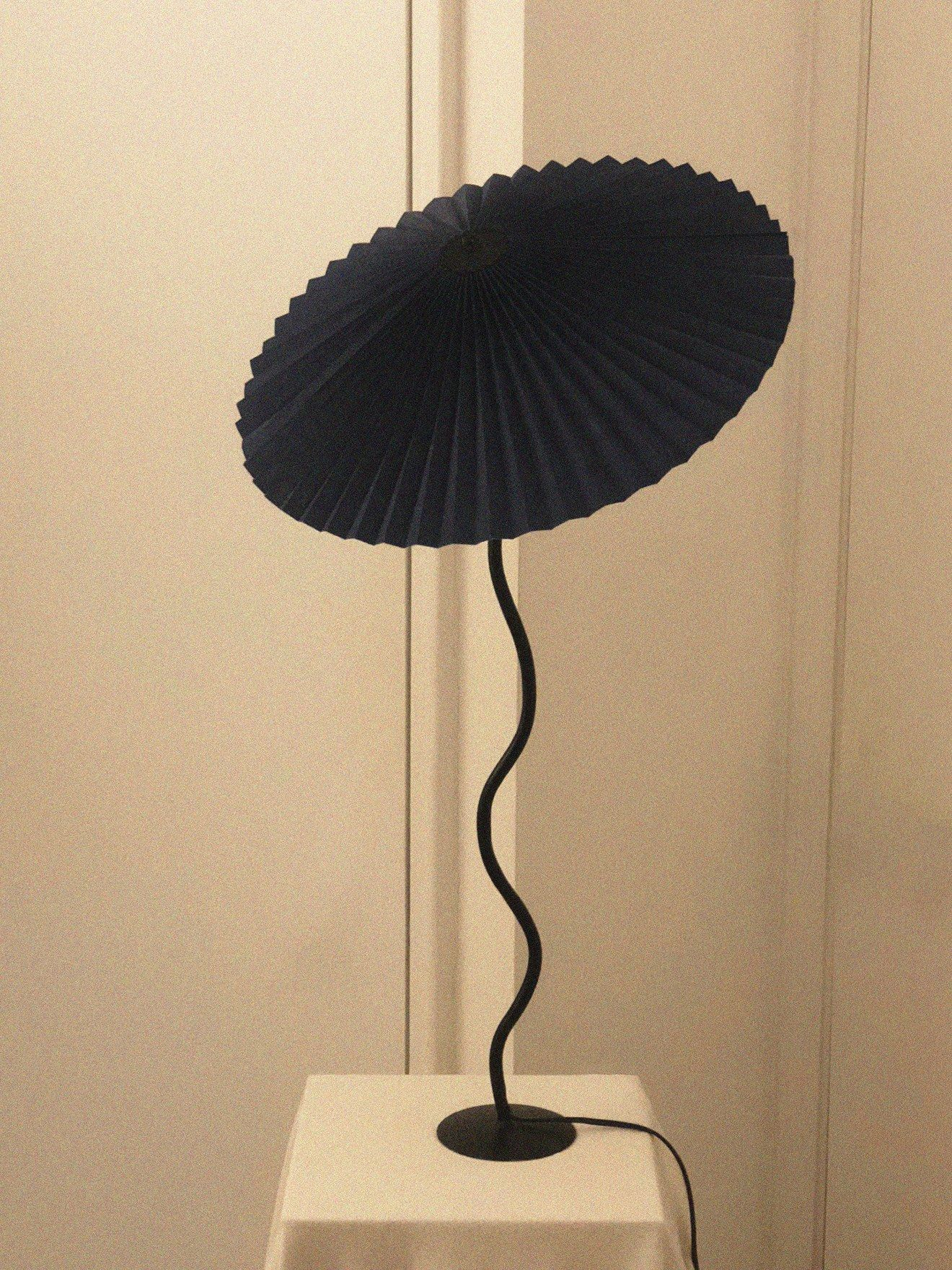 Meet The Sicilian Artist Behind Instagram S Favorite Pleated Lamps Lamp Pleated Shade Living Space Decor