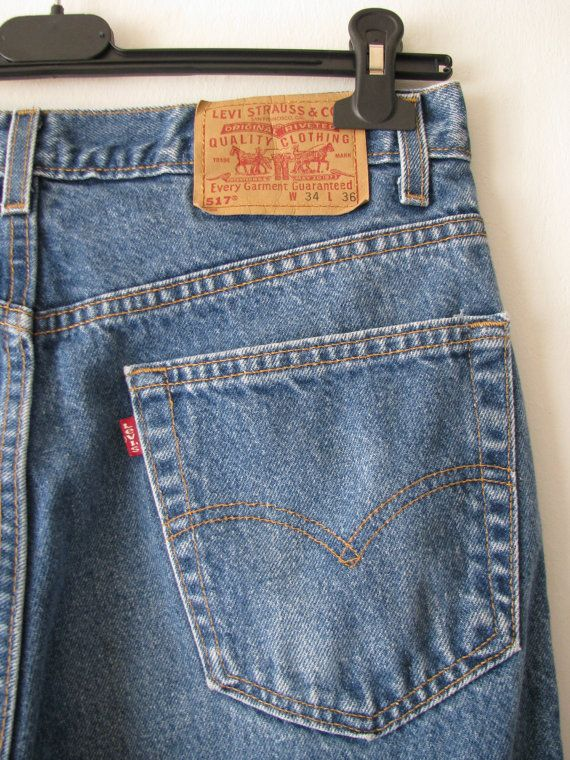 0d369a8f Vintage Levis 517 Boot Cut Jeans Made in USA | Classics | Jeans ...