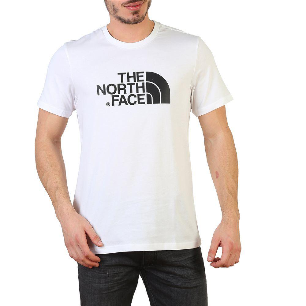 camiseta the north face blanca