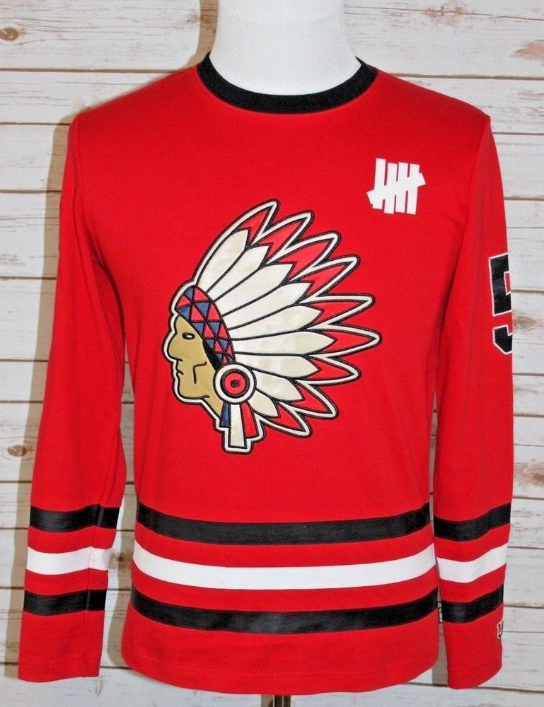 fd210a60f Undefeated Small Native Jersey Chicago Blackhawks Supreme Rare Hockey #5  UNDFTD #Undefeated #Jerseys