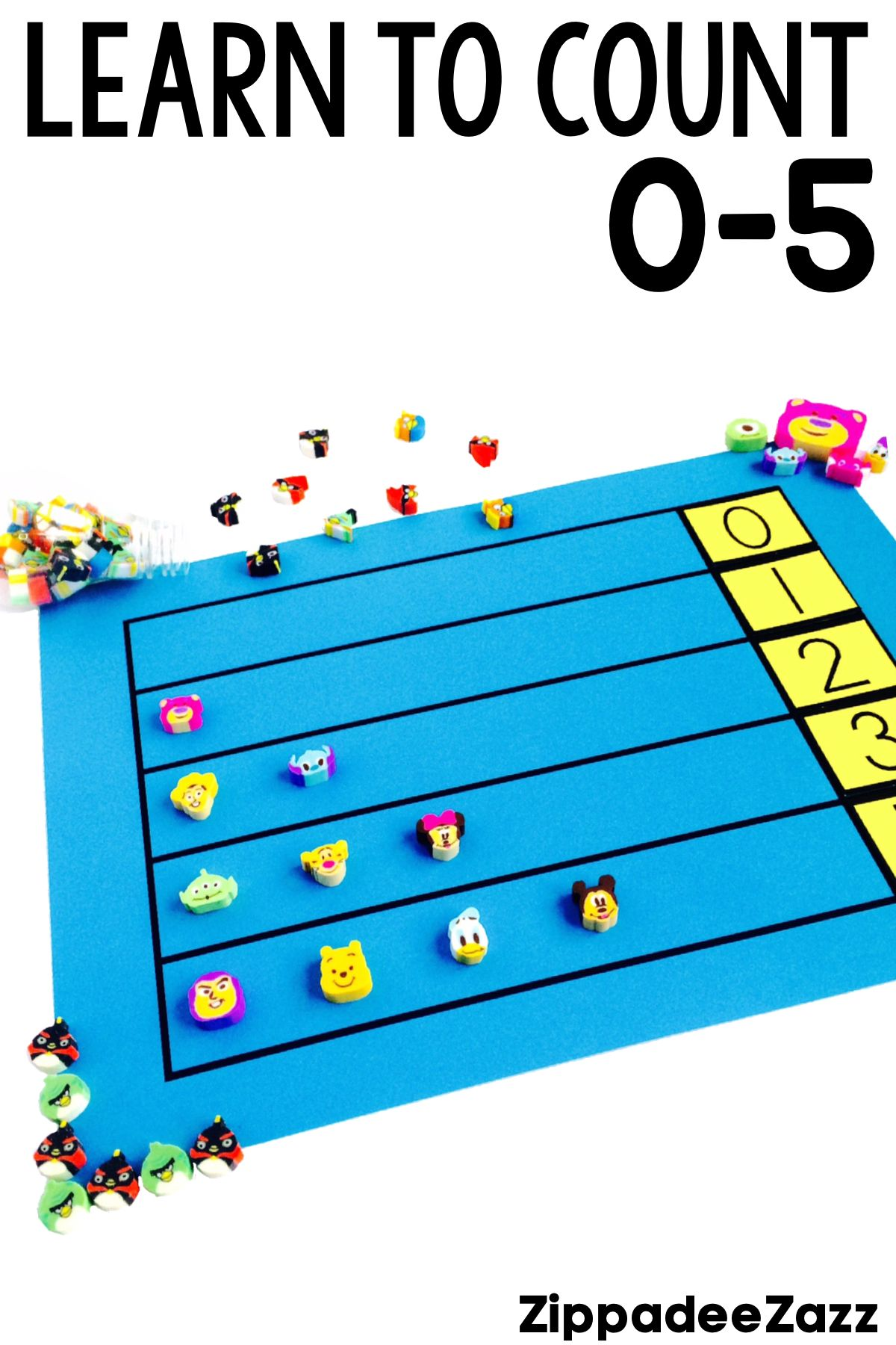 Kindergarten Curriculum For Math Unit 1 Numbers 0 5 Mighty