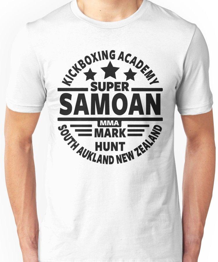 12e0797b72e3 'Smokin Joe Frazier' T-Shirt by Tee-Nova. Mark Hunt, Super Samoan Unisex T- Shirt