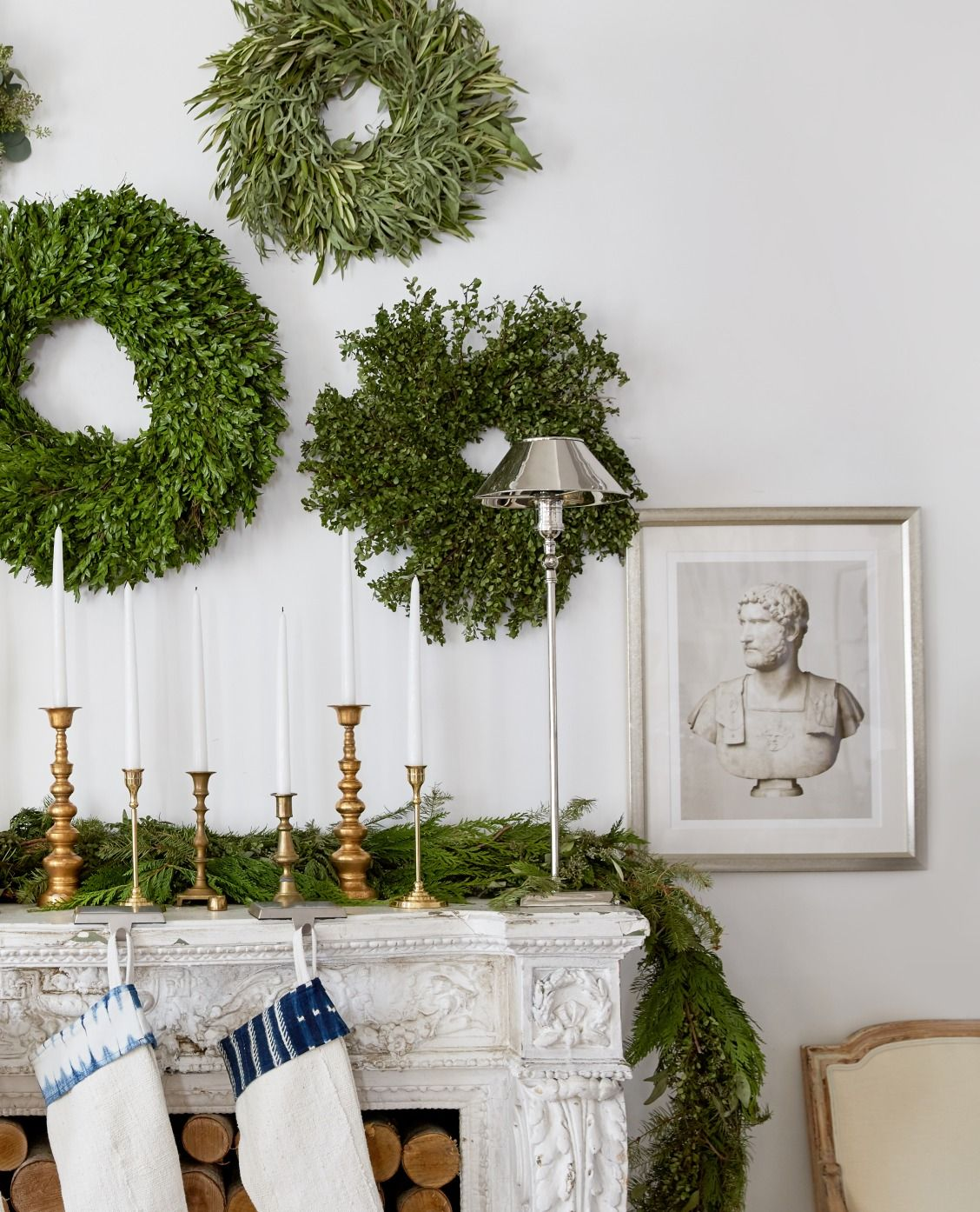 Try Our Fresh Take on Holiday Decor Candle stick decor
