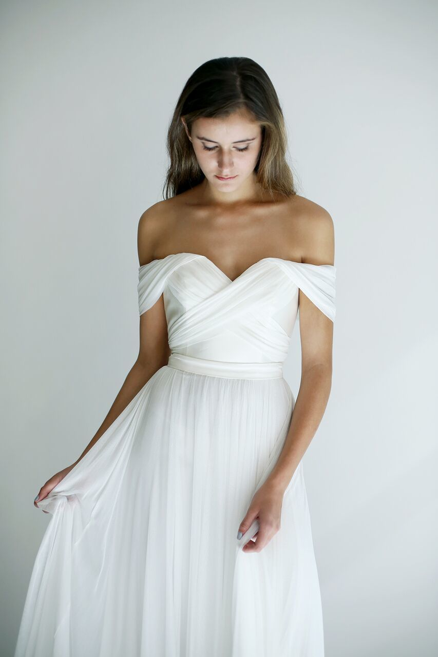 Leanne Marshall - Imogen top, available at Carrie Karibo Bridal ...