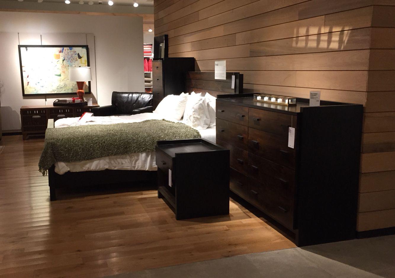 #CrateAndBarrel exploration :  Cozy bedroom setup