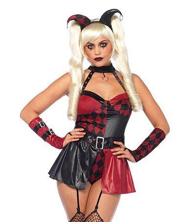 Black & Red Deviant Darling Costume Set ✿⊱╮@tonjaamenra