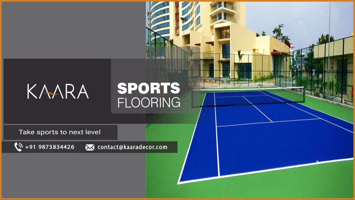 Get Sports Flooring from KAARA Decor & bring in a timeless look to your outdoor playing area. From us, you can avail of multiple styles & variations of Sports Flooring. So, Shop today! Call us now at +91-9873834426 OR request for a free quote at contact@kaaradecor.com #Sportsflooring #Flooring #kaara #kaaradecor #sport #outdoor #bestoffer
