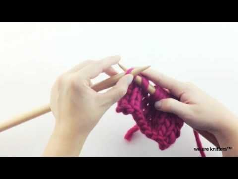 Aprender a tejer disminuciones (parte I) - WE ARE KNITTERS