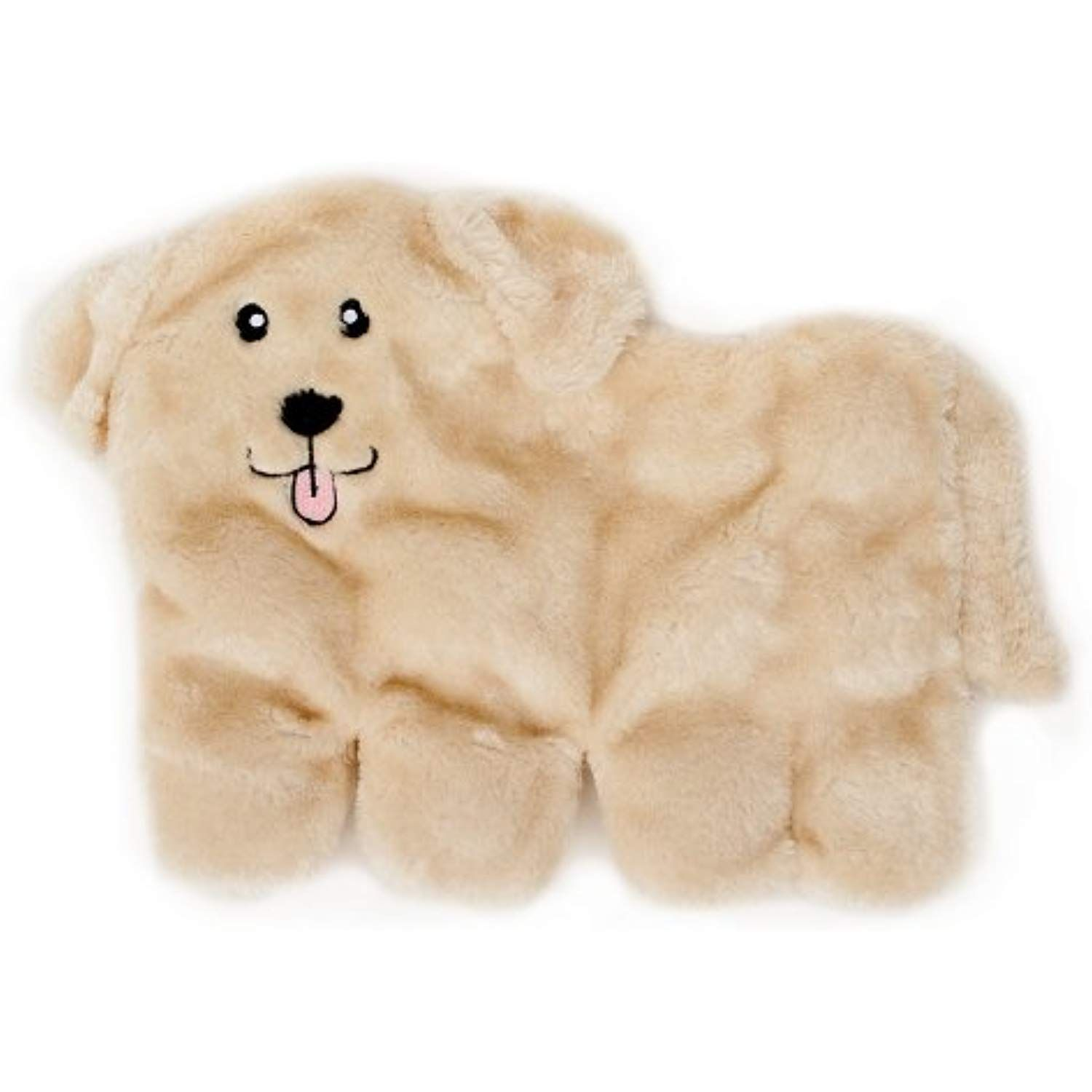 Zippypaws Squeakie Pup No Stuffing Plush Dog Toy 11 Squeakers