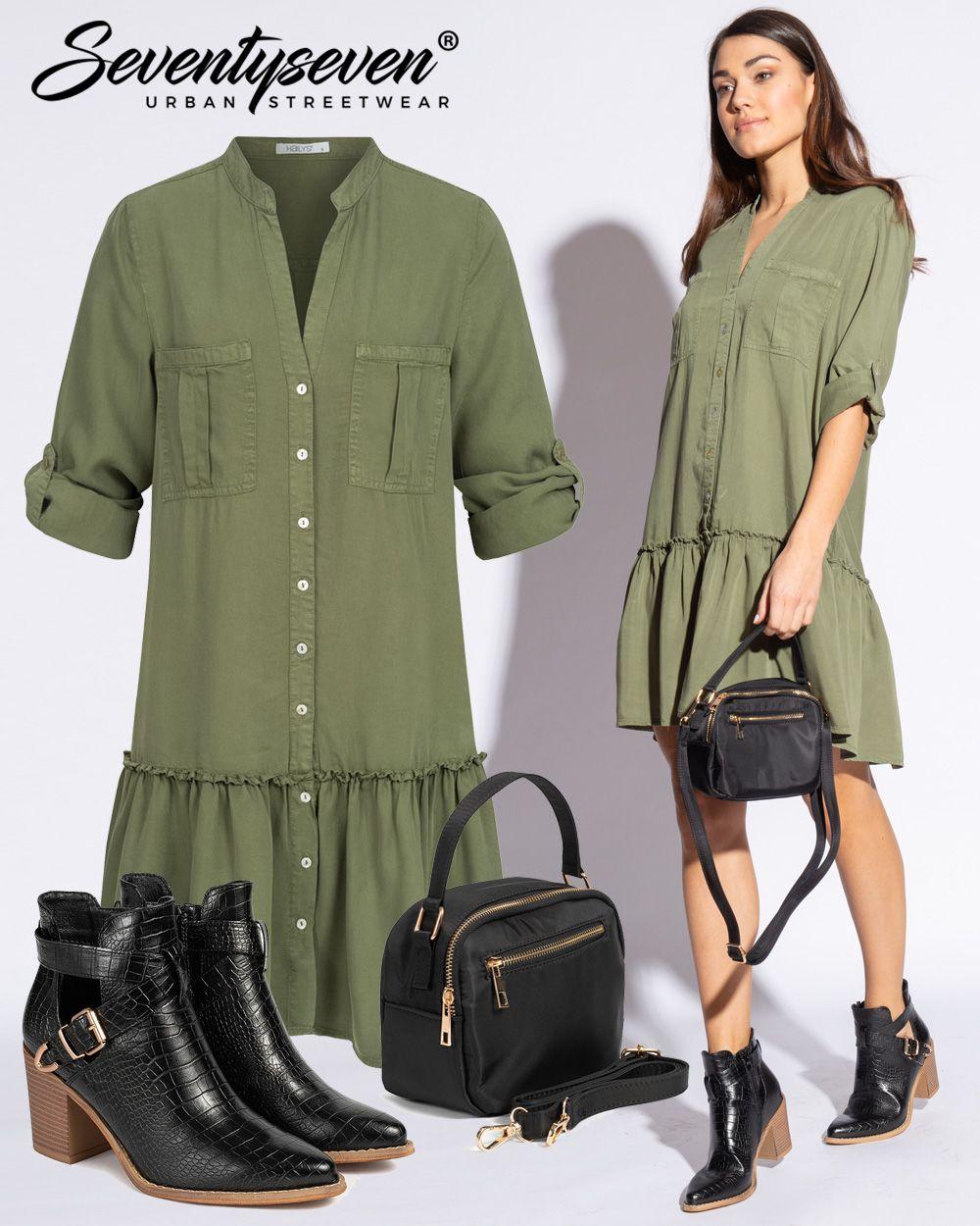 Outfit 17 - 17onlineshop in 17  Stiefeletten kleid, Modestil