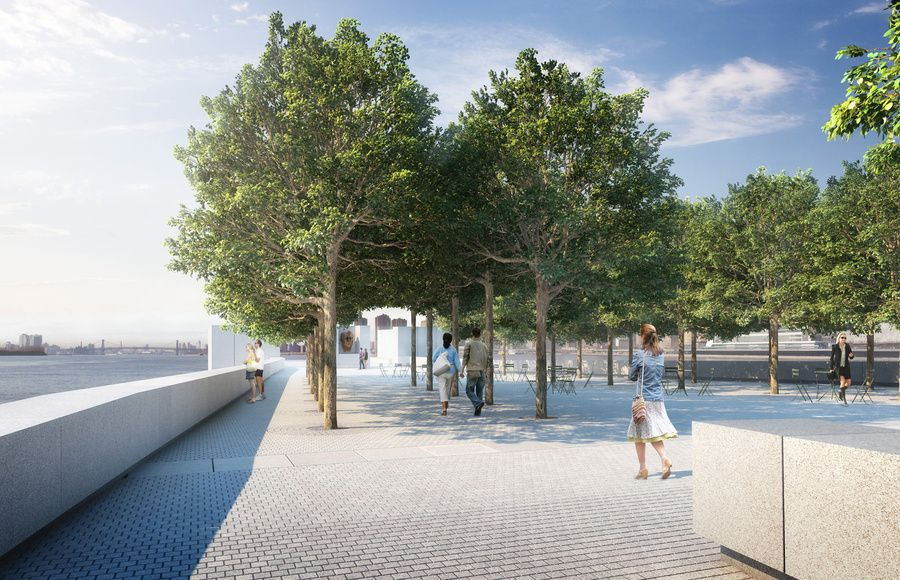 Forecourt, rendering by Chris Shelley