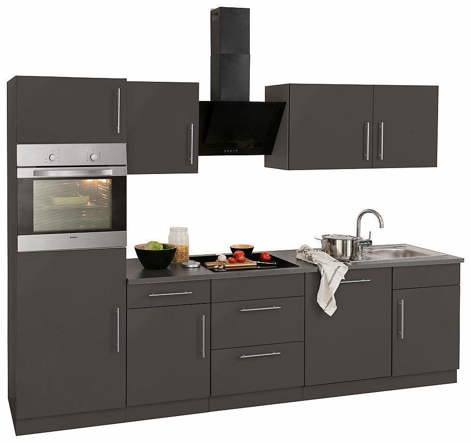 Küchenzeile »Cali« mit E-Geräten, Breite 280 cm Jetzt bestellen ...