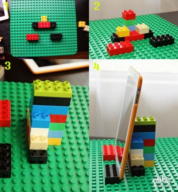 Laptop Holder Made Out Of Lego's