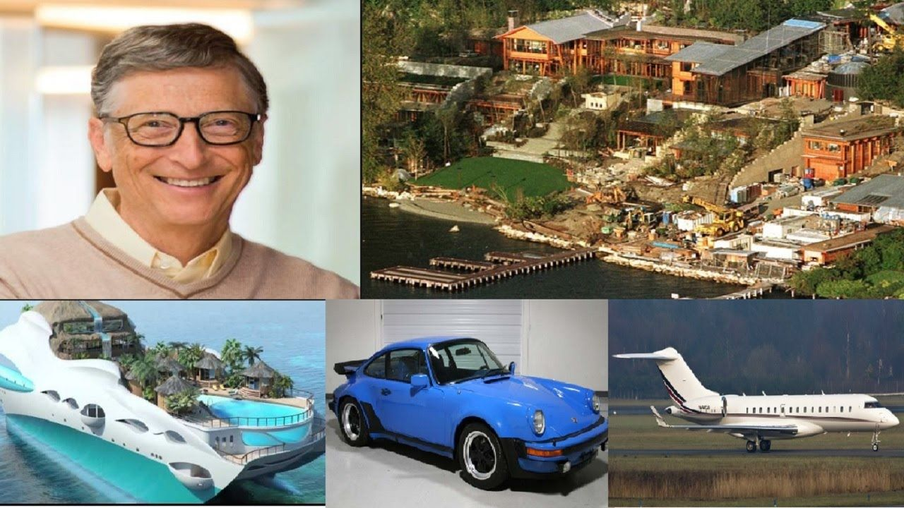 Bill Gates Biography Net Worth House Cars Planes Yacht Income 2016 Born On 28th Oct 55 B Richest In The World Bill Gates Biography Bill Gates Family