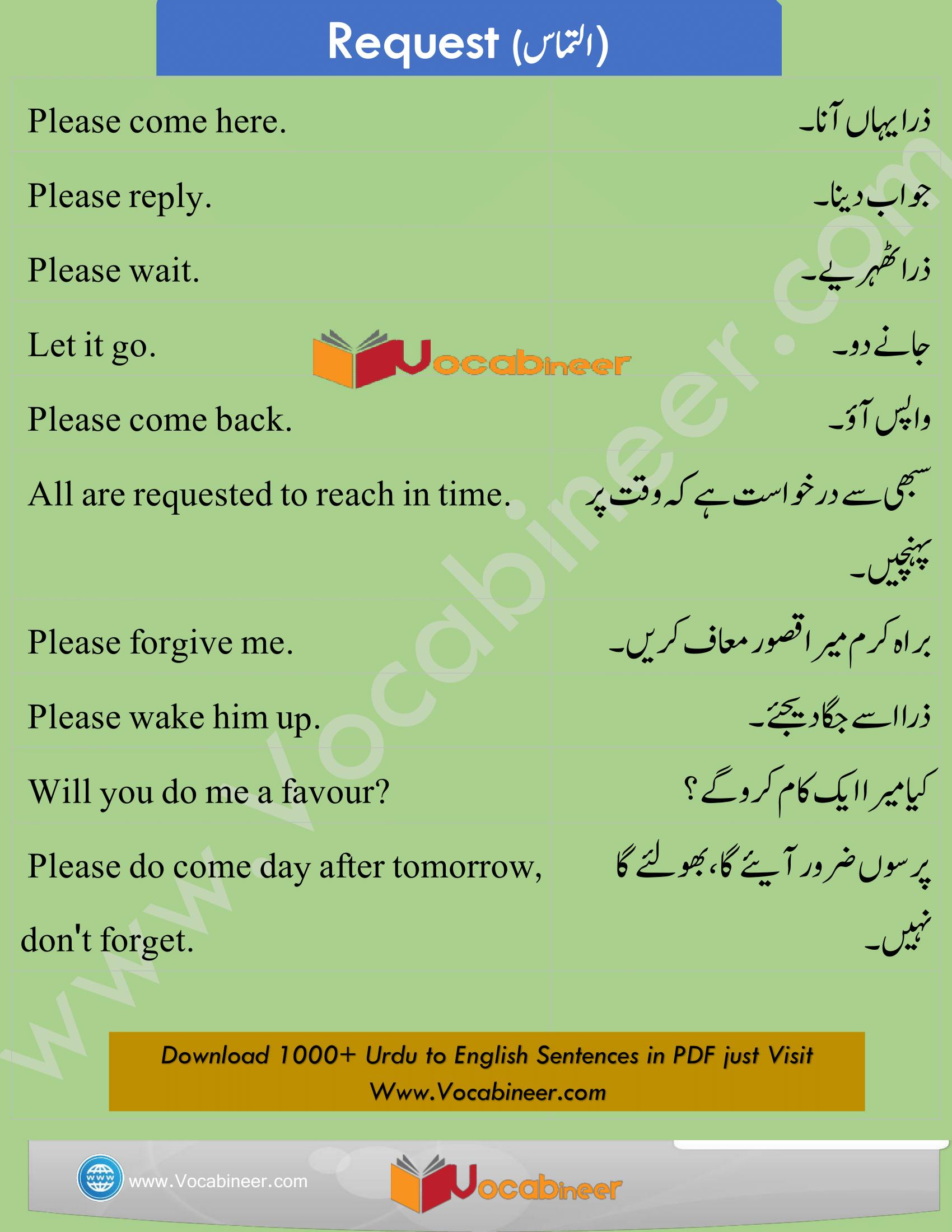English Dialogues Urdu To English Dialogues English