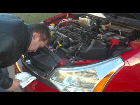 How To Change The Headlights On A 2008 Us Model Ford Focus Ford Focus Mobile Mechanic Ford Focus 2007