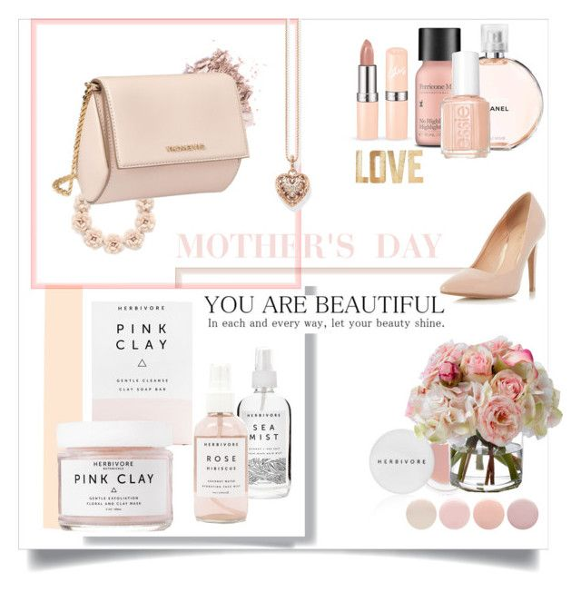 """""""Mother's Day in Pink"""" by randomgalaxy ❤ liked on Polyvore featuring Post-It, Herbivore Botanicals, J.Crew, Thomas Sabo, Givenchy, Chanel, Perricone MD, Essie, Deborah Lippmann and Diane James"""