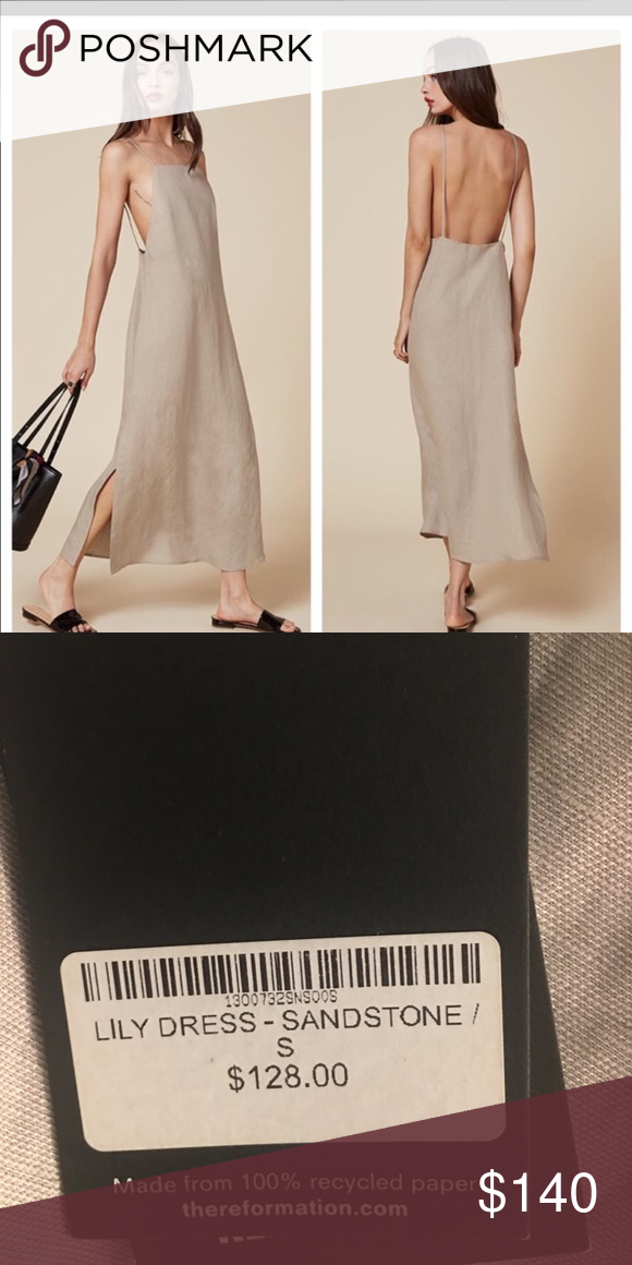 Reformation Lilly Dress Sold out. I have the blue and black. Not sure if I want to sell but it's kind of small on me.. The price is higher bc I want get most of my money back. Posh takes a lot so lmk if you want me to post elsewhere... Reformation Dresses Maxi