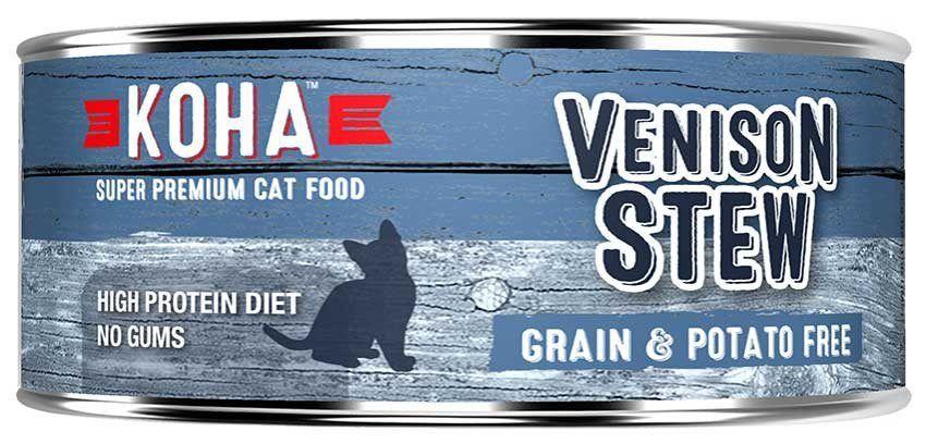 KOHACat Food Venison StewCase of 24 Canned cat food