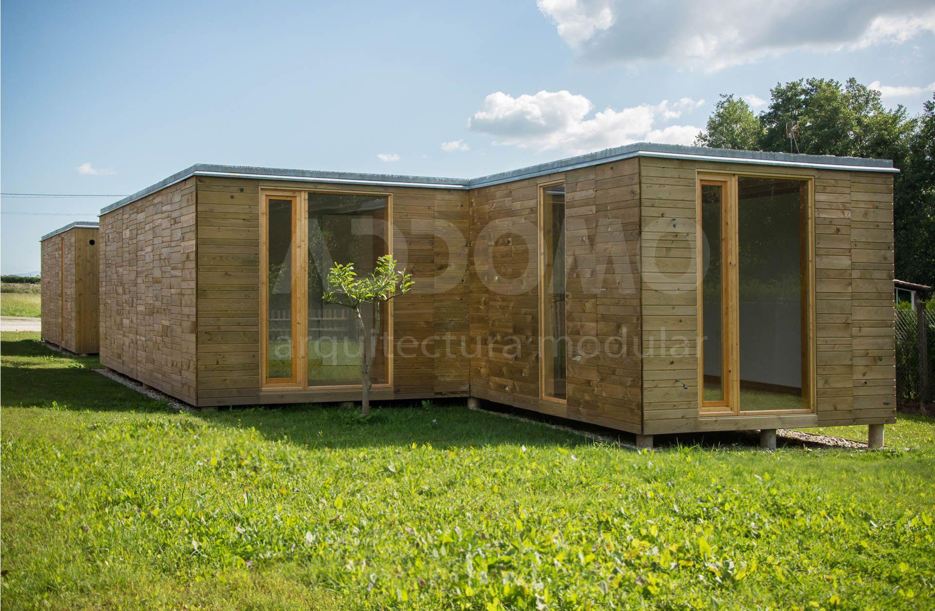 #viviendamodular  #Addomo #madera #arquitectura #diseno   addomo.es