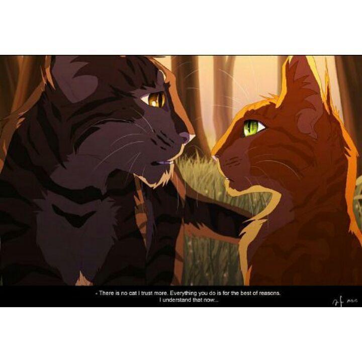 Warriors Erin Hunter Squirrelflight: - Squirrelflight And Brambleclaw.