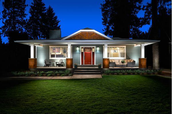 Craftsman versus ranch remodel decisions craftsman style for Craftsman style ranch house