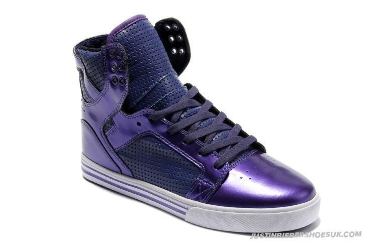 2932f200e756 Cheap Supra Justin Bieber Shoes Skytop Purple. Cheap Supra Justin Bieber  Shoes Skytop Purple High Tops ...
