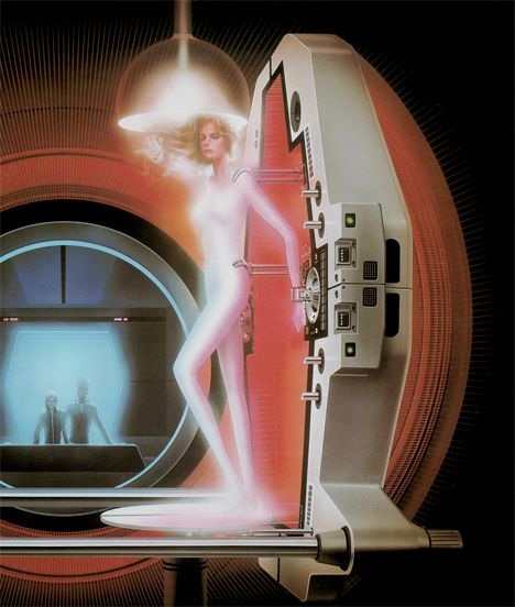 Sci Fi Art At Its Finest By Japanese: The Humanoid (movie Poster) 1979