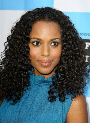 Okay As My Curls Grow Out More This Is The Style I Want Kerry Washington Hair Natural Hair Styles Curly Hair Styles Naturally