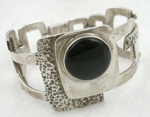 Erika Hult de Corral Modernist Bracelet - Garden Party Collection Vintage Jewelry