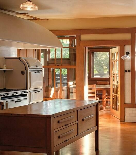 Bungalow Interior Design Kitchen: Arts And Crafts Kitchen