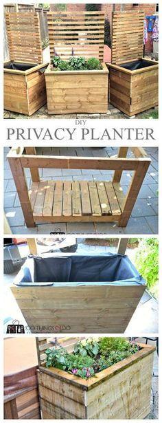 Diy Privacy Planter Diy Privacy Sceen Diy Privacy 400 x 300