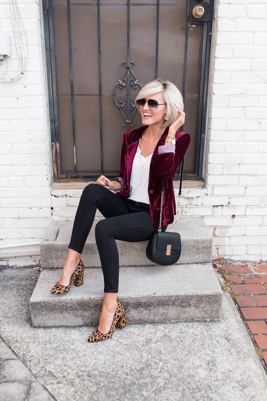 9cdef0523722 Velvet Blazer - Hand in Pocket - by | Fashion Trends | Fashion ...
